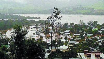 Inundaciones: hay otro muerto y 14 mil evacuados