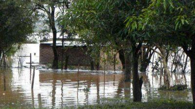Más de 7.000 evacuados y pérdidas millonarias en el Litoral