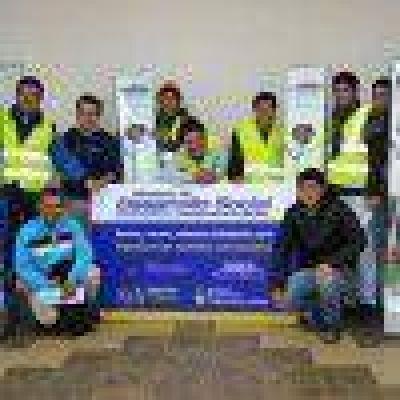 Cooperativistas de Argentina Trabaja recibieron equipamiento