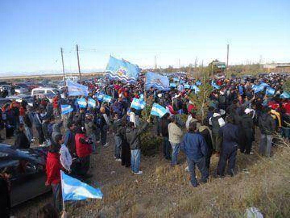 Petroleros de Chubut y Santa Cruz realizaron encuentro en Caleta Olivia