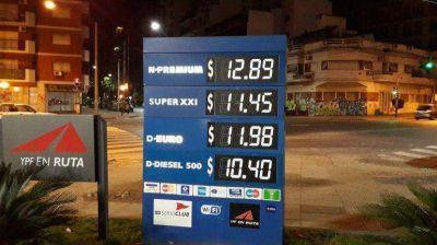 YPF volvi� a aumentar los precios de sus combustibles: todas las naftas suben un 4 por ciento