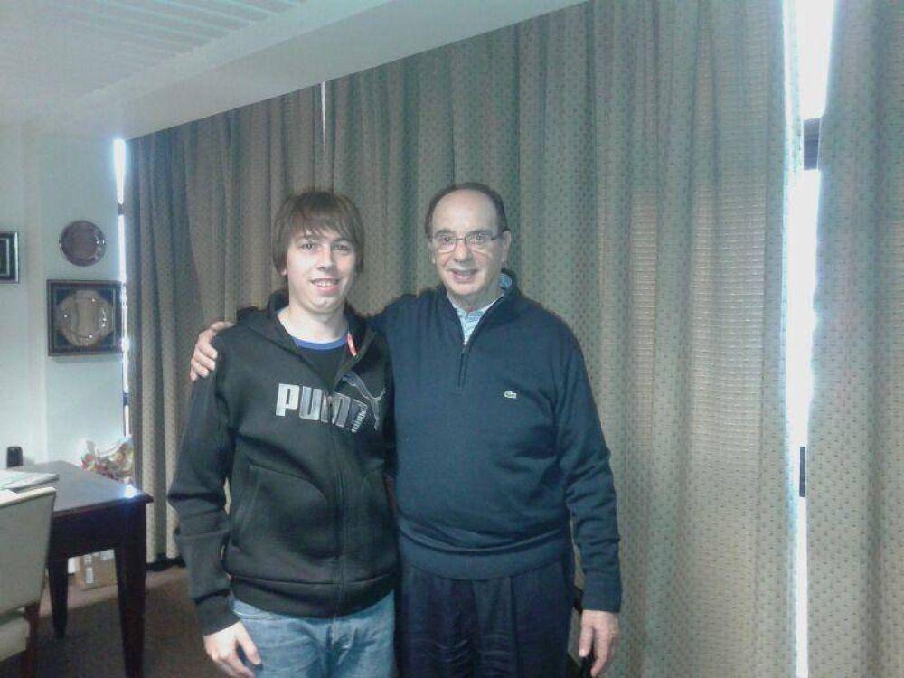 Mezzapelle se reunió con la FUM y apoyó el Boleto Estudiantil