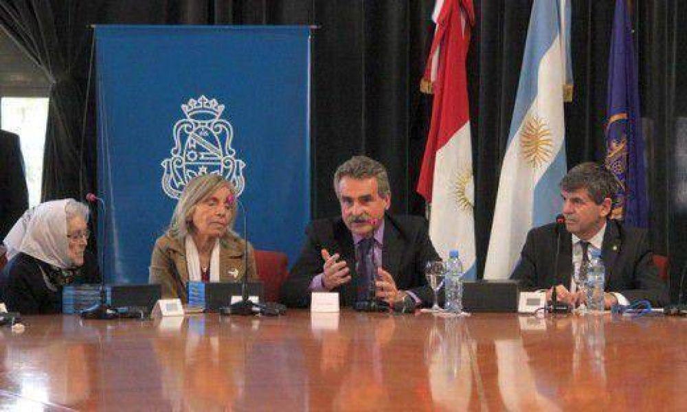Con traje de aspirante presidencial, Rossi cumplió agenda política e institucional en Córdoba