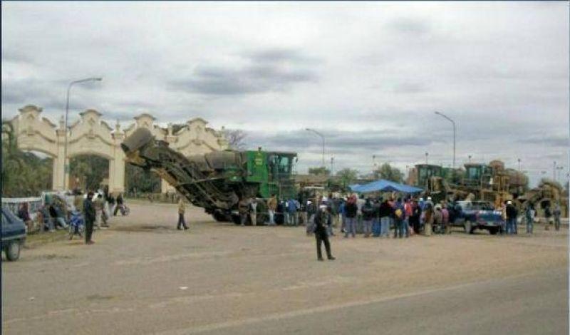 Un conflicto gremial paraliza la planta del ingenio Tabacal