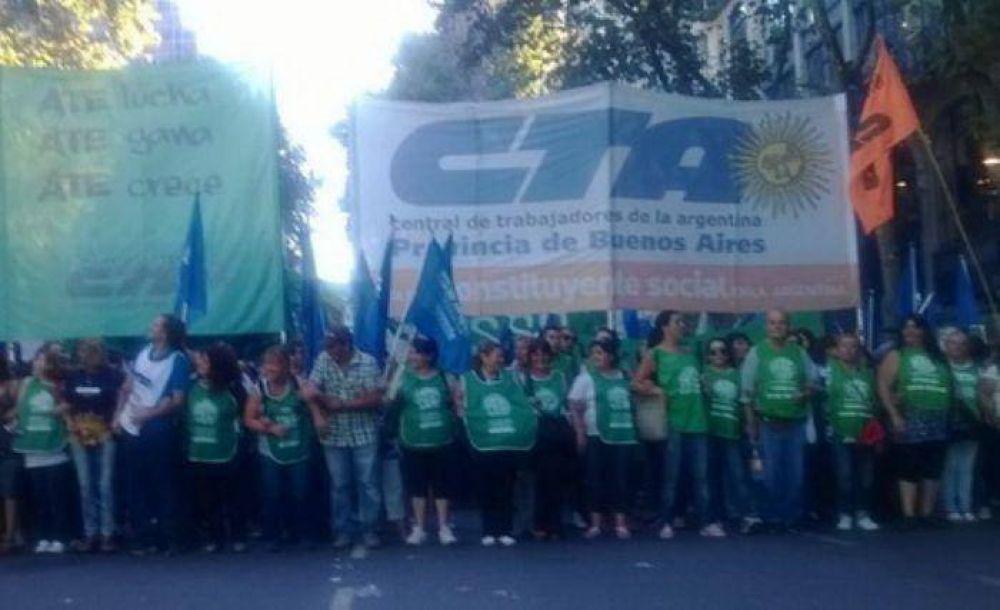 La jornada provincial de lucha de la CTA se hará sentir este miércioles en Mar del Plata.