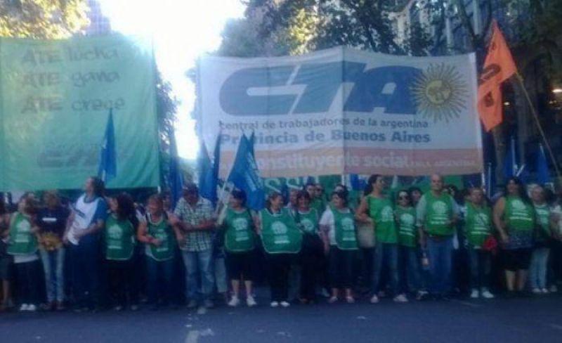 La jornada provincial de lucha de la CTA se har� sentir este mi�rcioles en Mar del Plata.