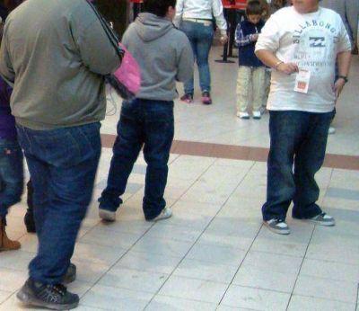 Controles escolares: preocupa la obesidad