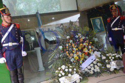 En la Quinta de San Vicente, intendentes e históricos dirigentes peronistas recordaron al General