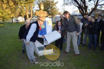 El PJ de Saladillo homenajeo a Perón a 40 años de su muerte