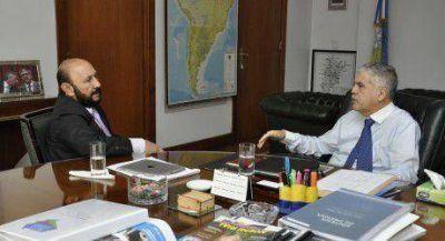 Insfrán delineó con De Vido un plan para las zonas afectadas