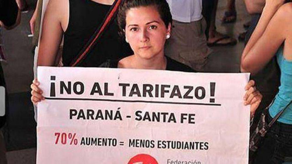 Resurge el conflicto por el boleto de Paraná-Santa Fe