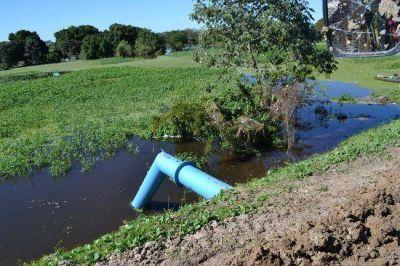 Continúa la asistencia del Estado a afectados por inundación