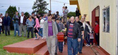 Panambí, sumido en el dolor, despidió a Cristian Knack