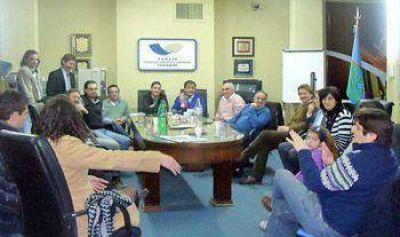 Mercado Central: referentes de la C�mara de Comercio se reunieron con concejales