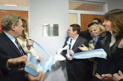Darío Díaz Pérez inauguró la nueva sede de la dirección de integración de discapacidad en Lanús