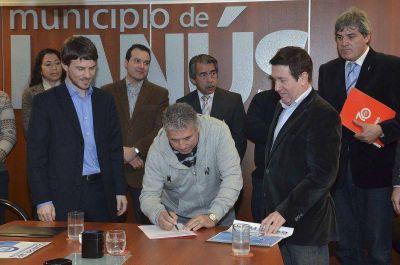 Lanús: Costa y Díaz Pérez lanzaron la 2º etapa del Precios Cuidados