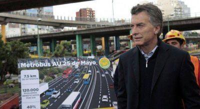 Macri ya trabaja en un plan para trasladar el puerto y construir 800 km de autopistas por año