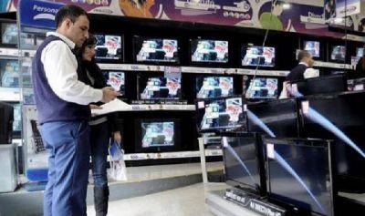 Se venden más televisores que en el resto del país