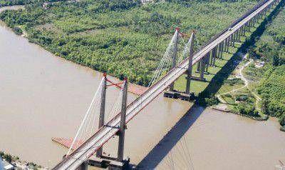 La crecida del Río Paraná está llegando al Delta de Zarate