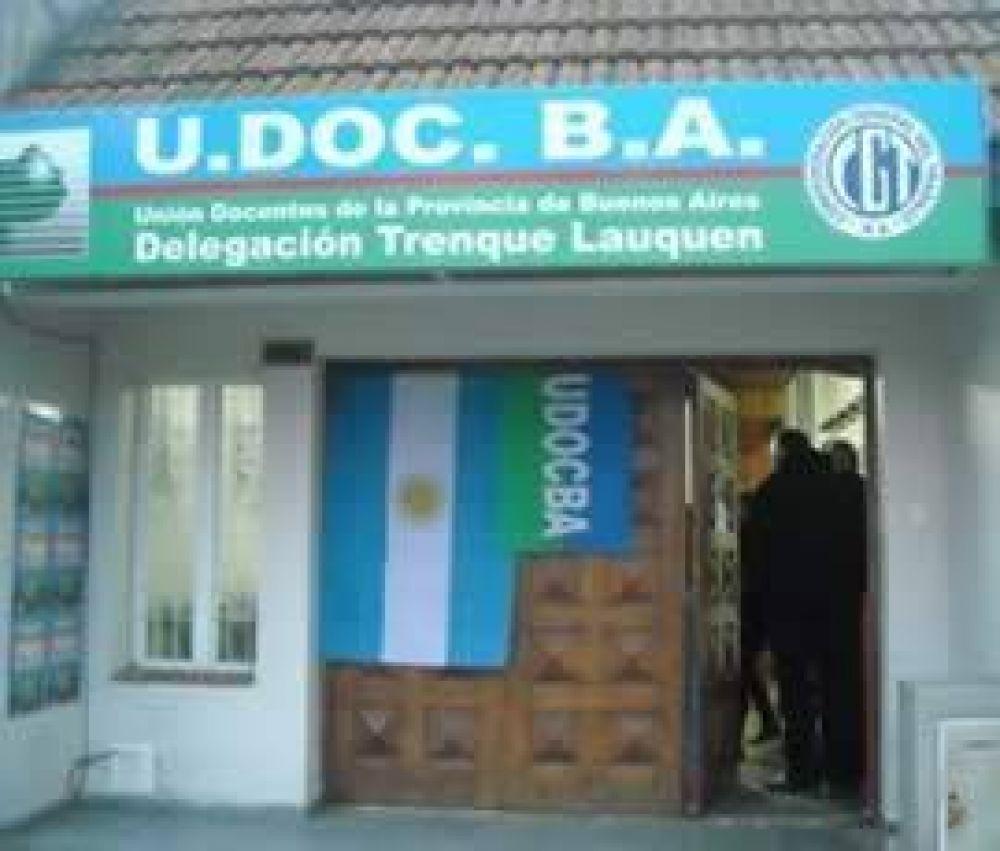 Udocba, con sede en la ciudad
