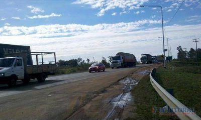 La Ruta 14 quedó habilitada y ya pueden circular todos los vehículos