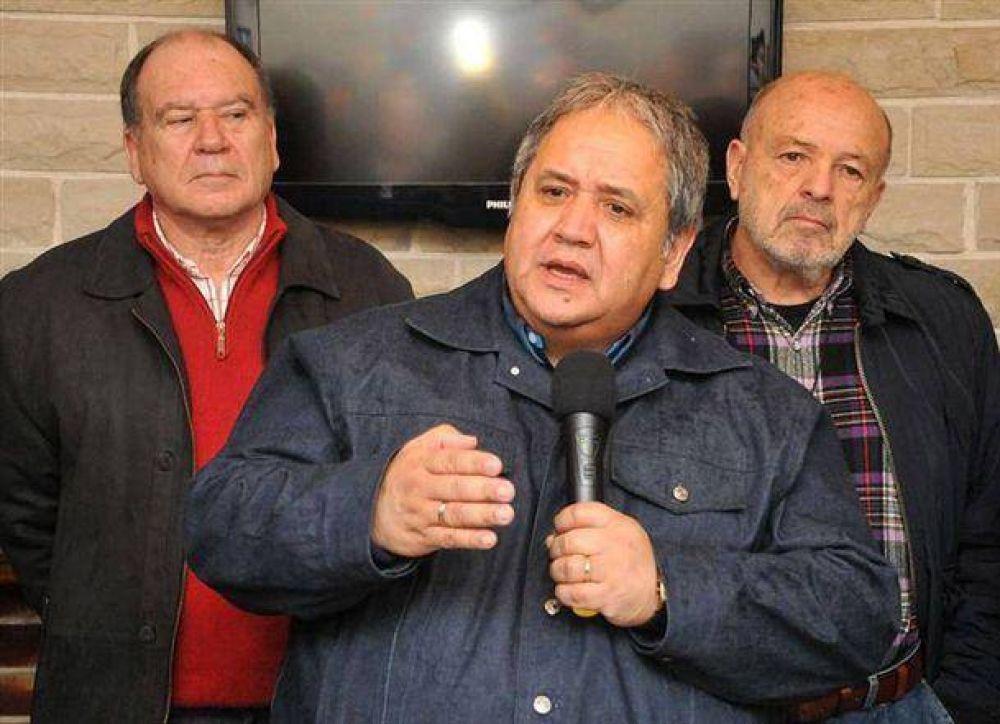 El dirigente regional, Carlos Caballín, habló de la nueva casa de