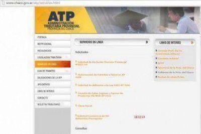 La Administración Tributaria Provincial incorporó nuevos servicios en sitio web