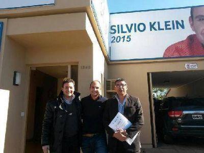 Klein, Musso y Quarenta se reunieron con diputado nacional del PRO