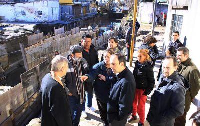Santa Fe: El desagüe Entre Ríos presenta un 70 % de avance
