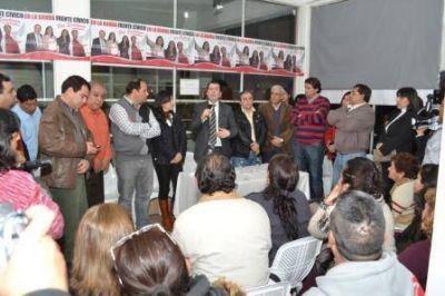 Continúan las adhesiones a la formula del Frente Cívico en La Banda