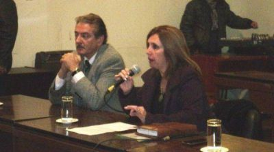 La contadora Corradi y el Viceintendente de La Banda,Luis Daud presentarán programa de empleo
