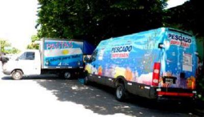 Nuevamente estará en la Plaza Negri el camión de Pescado para Todos