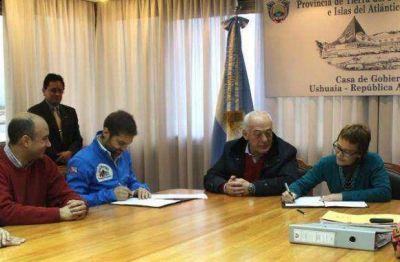 Gobierno y Municipio de Ushuaia acordaron cancelar deudas con obras del Fondo Fiduciario
