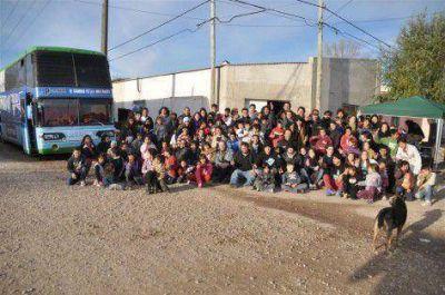 Juventud Peronista de Junín en marcha