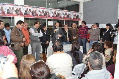 La Banda: Contin�an las adhesiones a la formula del Frente C�vico