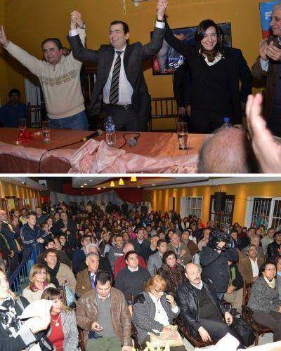 Elecciones Municipales 2014: Gran convocatoria del Frente Cívico en La Banda