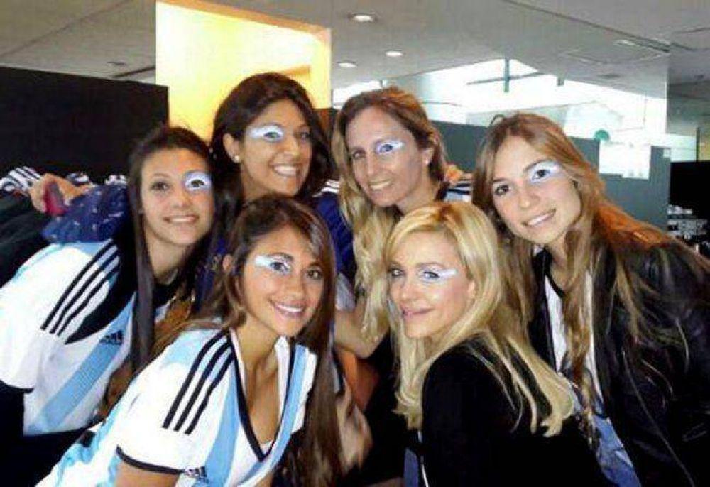 Las esposas de los jugadores le hacen el aguante a la Selección