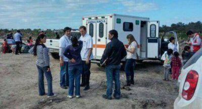 Evacuados reciben atención médica a cargo de varios grupos de especialistas