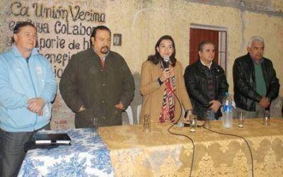 La fórmula Nassif – Adamo del Frente Cívico continúa recibiendo el apoyo de los vecinos de La Banda