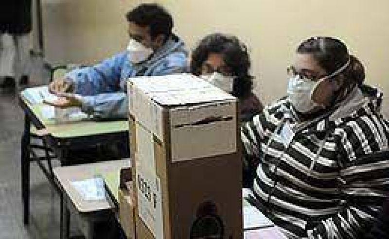 Votación con recaudos por la gripe A