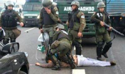 Cruces en el kirchnerismo por la represión en Panamericana