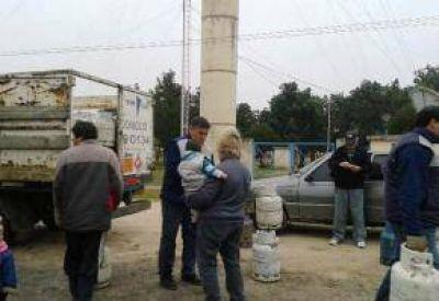 Son 196 las garrafas subsidiadas para Gobernador Castro y Vuelta de Obligado
