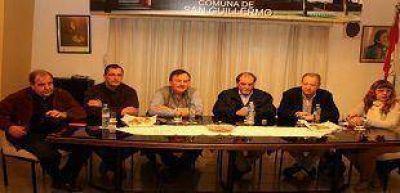 Bertero se refirió al plan de obras de la DPV en su visita a San Cristóbal, Ceres y San Guillermo