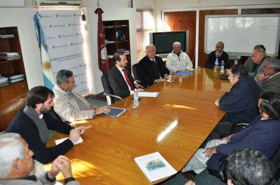 Presentaron las nuevas autoridades de la Asociación de Consorcios de Riego