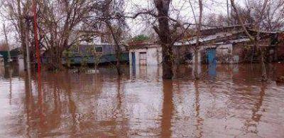 El domingo comenzará a bajar el río Uruguay