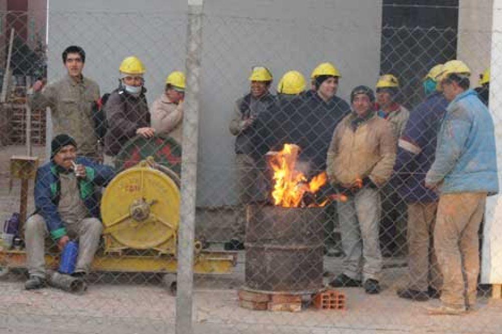 Los empleados del Complejo Federación iniciaron una huelga