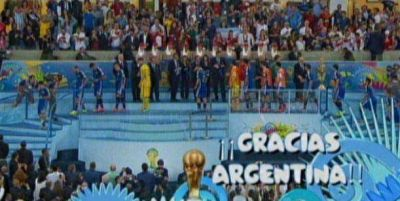 Argentina subcampeón: La final tuvo un pico de 44 de rating