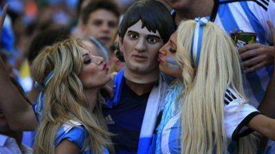 Los famosos alentaron a la Selección de Argentina en la final del Mundial