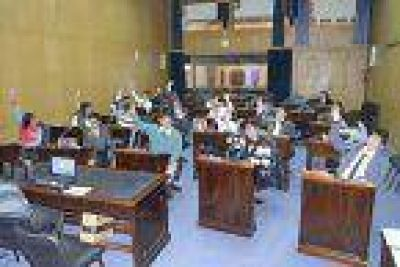 La FECES, en sesión legislativa estudiantil