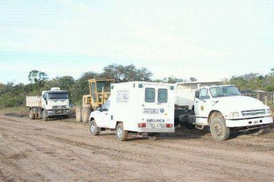 Los equipos médicos estuvieron en Herradura, Banco Payaguá, Mojón de Fierro y Boca Riacho Pilagá